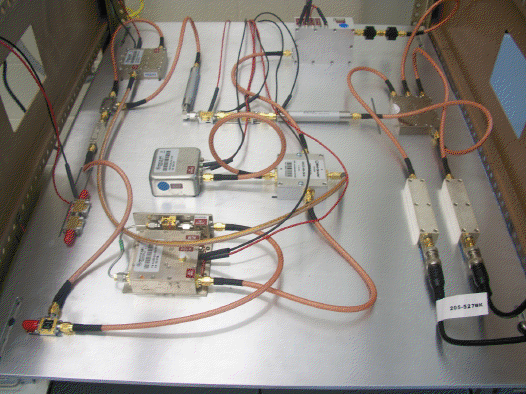 Equipment used to search for Hidden sector photons